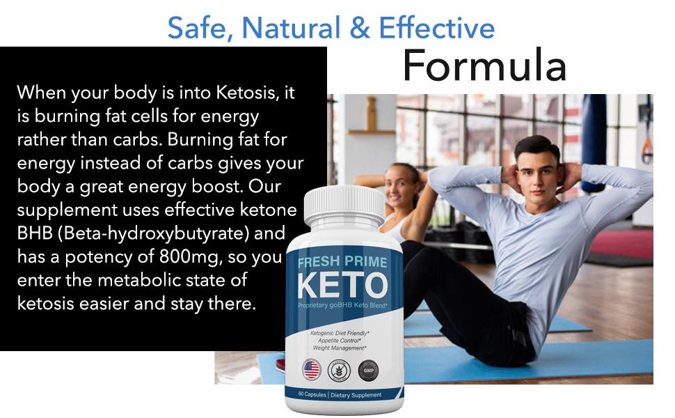 fresh prime keto diet pills weight loss formula shark tank capsules bhb ketones fat burn pill lose