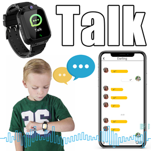 Kids GPS  smartwatch voice chat message watch phone for boys grils gift christmas new year gift