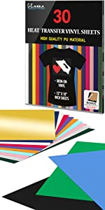 htv heat transfer vinyl sheets for fabrics and clothes custom designs crafting iron on heat press