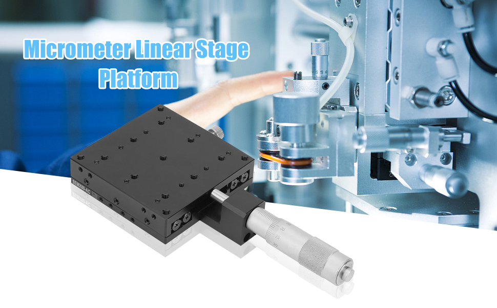 Manual Trimming Platform Reliable High-Strength Durable Corrosion Resistant Linear Stage Table For Production Machinery Testing Equipment