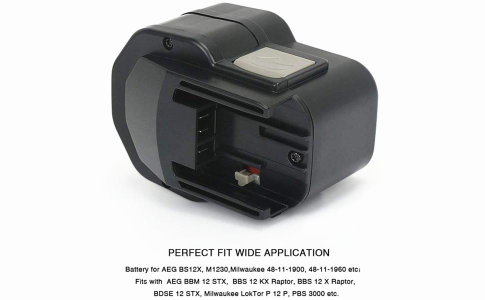 LokTor P 12 TXC 2x Batterie 1500mAh pour Milwaukee LokTor P 12 TX