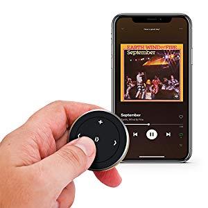 スマホ遠隔操作 iPhoneリモコン Satechi サテチ 音楽再生 メディアボタン メディア操作 車載マウント ipadリモコン シャッターボタン セルフィーボタン カメラリモコン