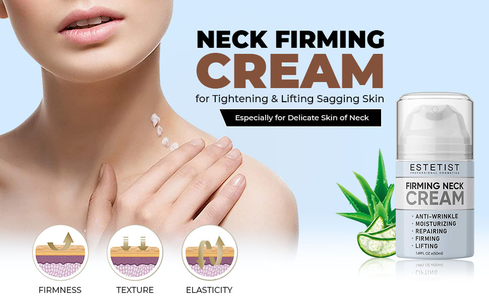 SPN-T2G Neck Firming Cream for Tightening & Lifting Sagging Skin