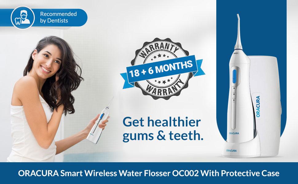 Wireless Water Flosser, OC002, ORACURA, Braces cleaning