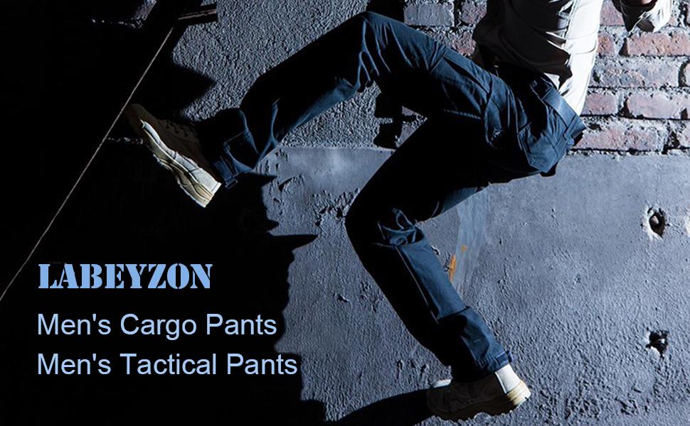 LABEYZON cargo military outdoor paintball assault trousers brand urban black grey brown khaki green