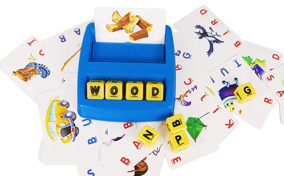 Amazon.com: Matching Letter Game, Alphabet Reading ...