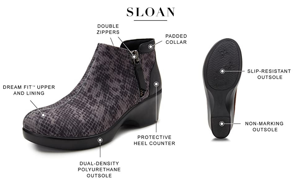 Alegria by PG Lite SLOAN cute and comfortable style APMA accepted shoes for women