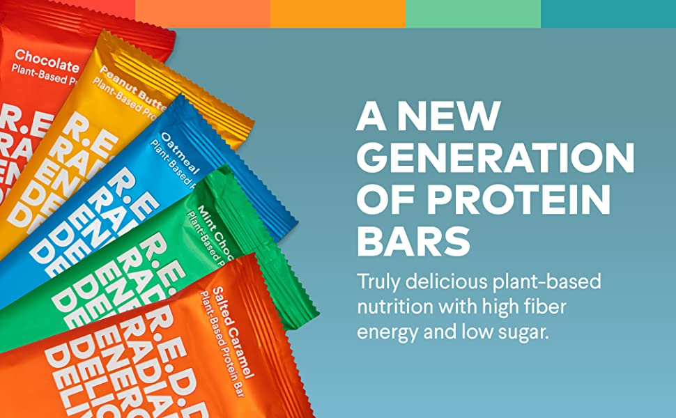 A new generation of protein bars