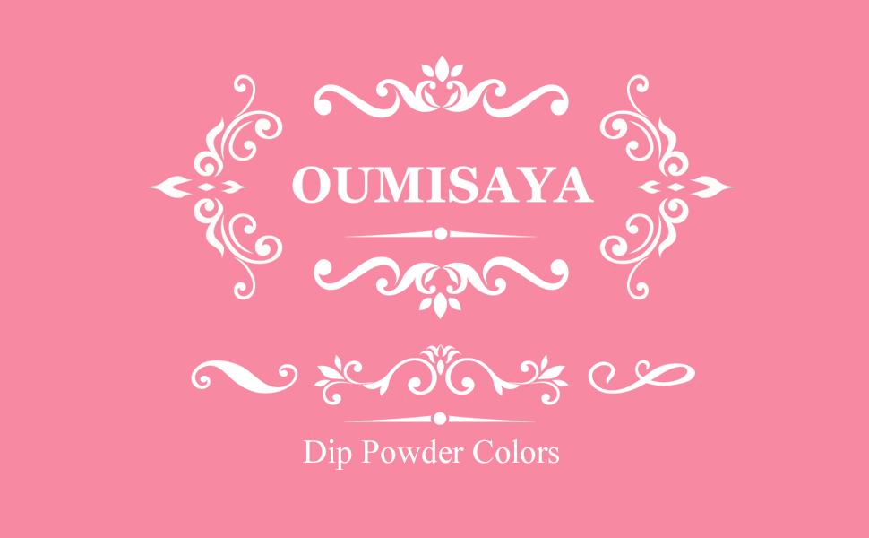 OUMISAYA DIP POWDER COLORS KIT
