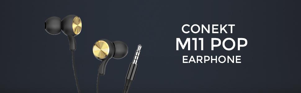 Conekt M11 POP Earphones