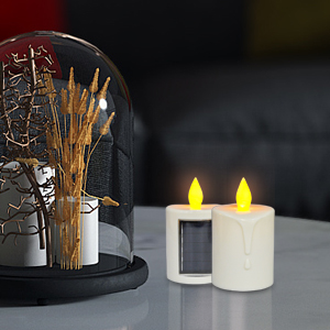 water proof candle