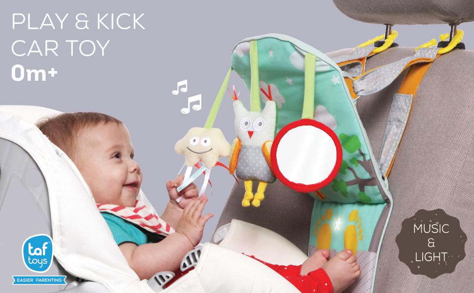 "Taf Car Seat /& Stroller Toys Play /"" Kick Baby/'s Activity Entertaining Center,"