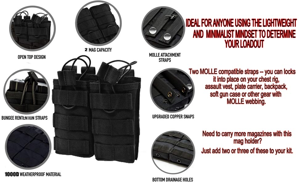 Ideal for anyone using the lightweight and minimalist mindset to determine your loadout