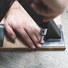 Montage tafelpoten van Holzbrink - stap 3