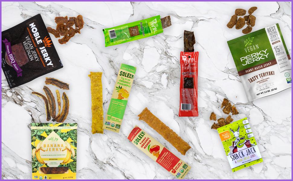 Vegan Jerky Sampler Box