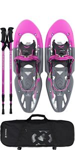 pink snowshoe