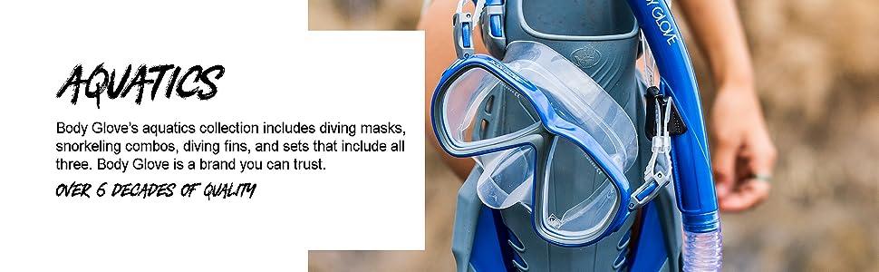 mask, snorkel, aquatics, diving, diving fins, brand