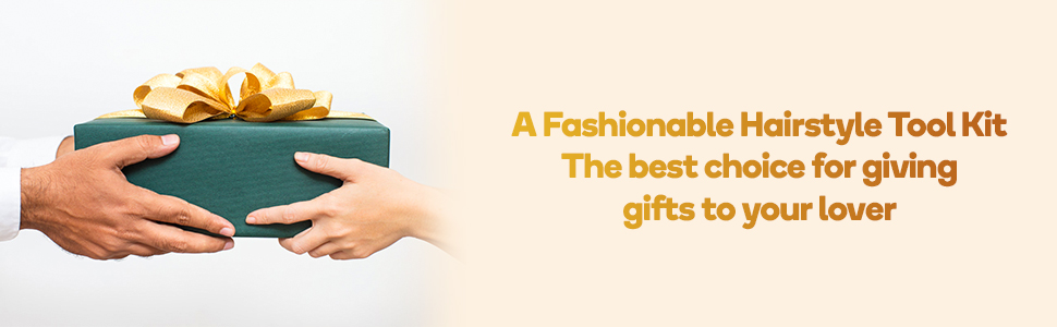 a fashionable hairstyle tool kit the best choice for giving gifts to your lover