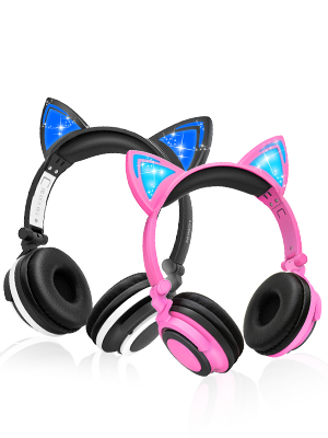 multi color kids headphones
