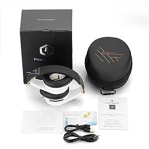 Bluetooth-Kopfhörer mit faltbarem Design Premium-Tragetasche Over Ear
