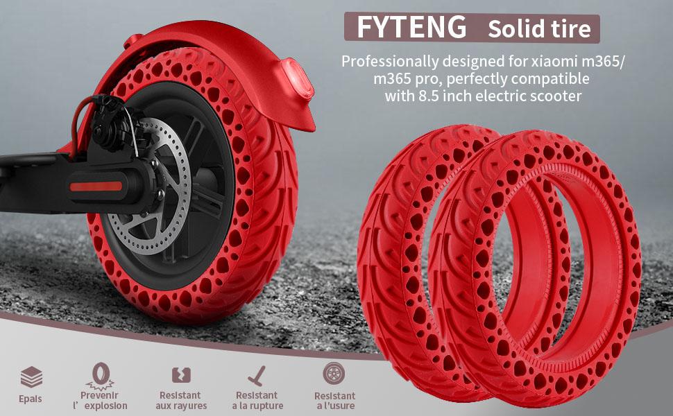 pneus pleins xiaomi m365