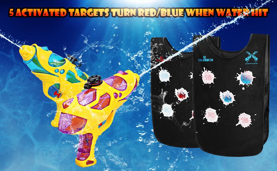 water activated vests
