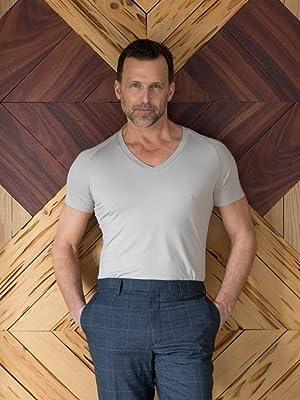 men's undershirt, best undershirt for men, invisible undershirt