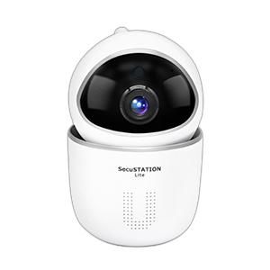 SecuSTATION 防犯ステーション 防犯カメラ ペットカメラ ベビーモニター 自動追跡 パンチルト