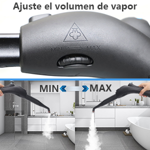 MLMLANT Limpiador a Vapor,Vaporeta,Trapeador a Vapor 2L Gran Capacidad, 2000W, 20 Accesorios Limpiador a Vapor multifunción: Amazon.es: Hogar