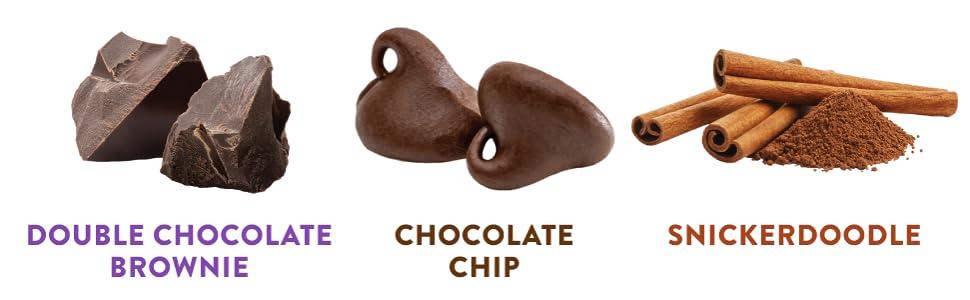 highkey keto low carb mini cookies chocolate chip snack food keto foods snickerdoodle brownie