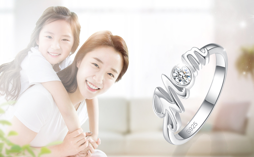 silver ring for mom