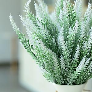 artificial lavenders white