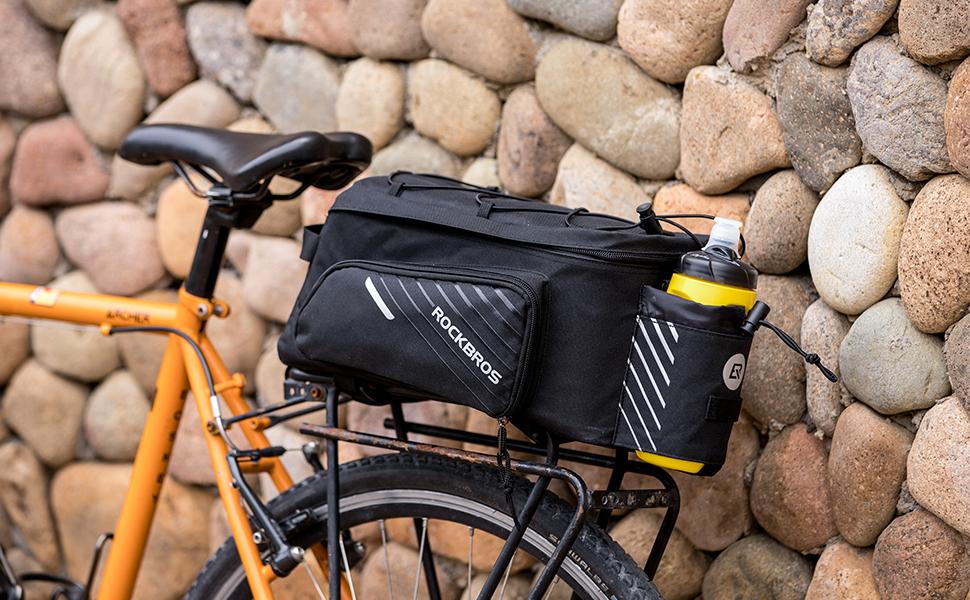 RockBros MTB Bike Rear Carrier Bag Bicycle Rear Pack Pannier Bag Rack 4 styles