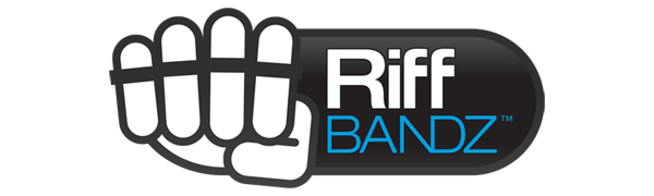 Riff BANDZ Resistance Training Bands For Guitar Bass Piano Finger Speed System