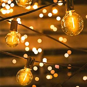 G40 lED string lights