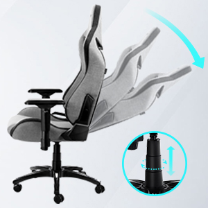 155 degree reclining angle adjuster