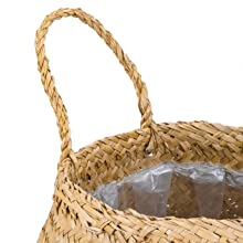 Basket Planter with Handles