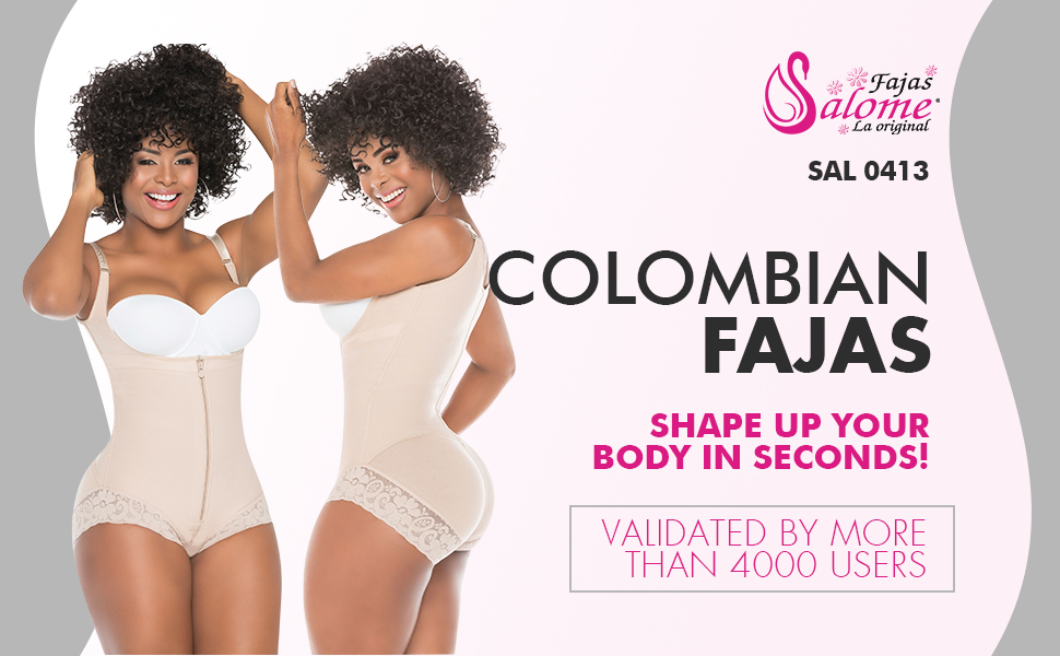 Fajas Colombianas Salome 0419 Women/'s Shaper Reductora Butt Lifter Body Panty