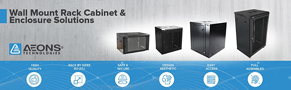 Wall Mount Rack Cabinet amp; Enclosure Solutions