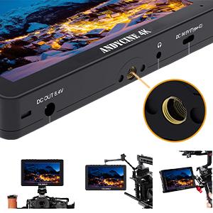 Flexible Install Both on Camera and Gimbal