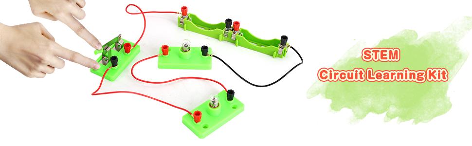 STEM circuit learning kit