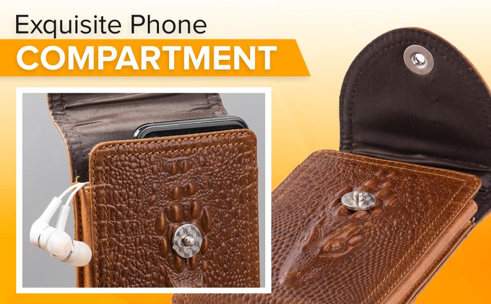 iphone xr belt pouch case for men