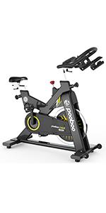 C505 Exercise Bikes with 44lbs flywheel