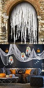 11 Yards Halloween Creepy Cloth
