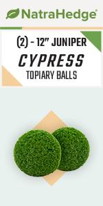 Artificial Juniper Boxwood Topiary Ball Set