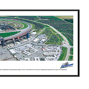 Chicagoland Speedway with standard frame