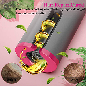 rotating curling irons