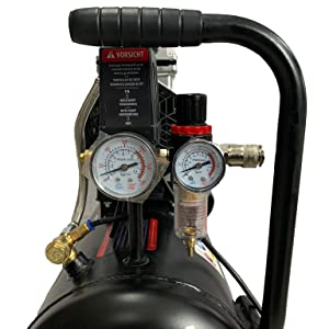 Hemak Hk Sk50 8 2 Silent Kompressor Druckluft Kompressor 50 L 8 Bar Flüster Baumarkt
