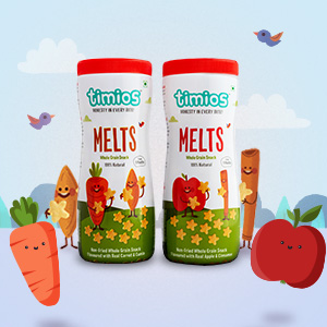 Melts, Finger Foods, Healthy Snacks for 9 month Old Babies, Apple, Carrot, Cinnamon, Cumin, Timios