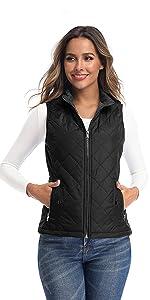 black vest for women